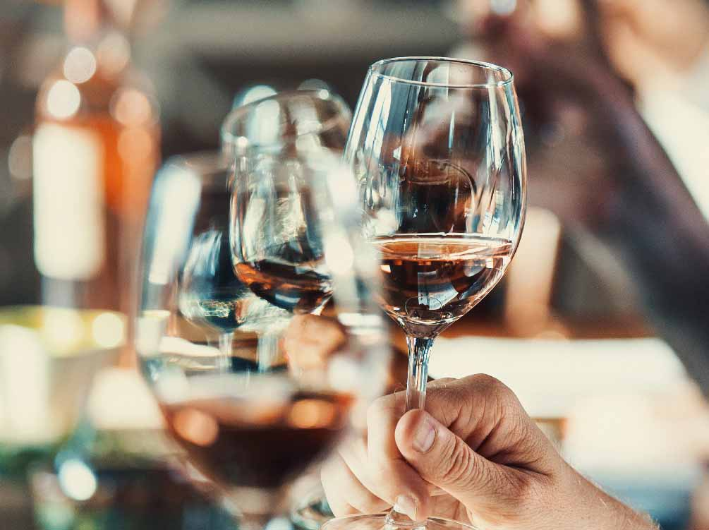 New Year 2021 Celebration Dinner<br> at Restaurant Blanc